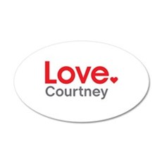 Love Courtney Wall Decal