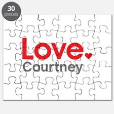 Love Courtney Puzzle