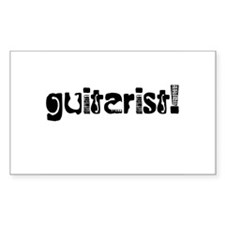 Guitarist Decal