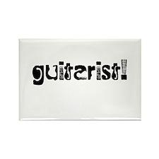 Guitarist Rectangle Magnet (10 pack)