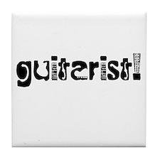 Guitarist Tile Coaster