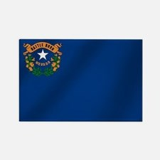 Nevada State Flag Rectangle Magnet