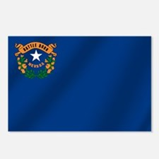 Nevada State Flag Postcards (Package of 8)