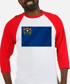 Nevada State Flag Baseball Jersey