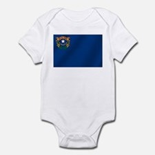 Nevada State Flag Infant Bodysuit