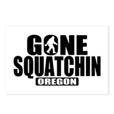 Gone Squatchin *Oregon - State Edition* Postcards