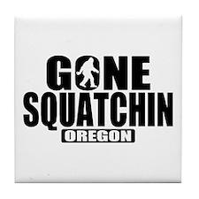 Gone Squatchin *Oregon - State Edition* Tile Coast