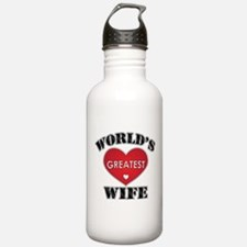 World's Greatest Wife Water Bottle