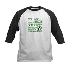 You are stronger than you seem Baseball Jersey