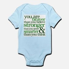 You are stronger than you seem Body Suit