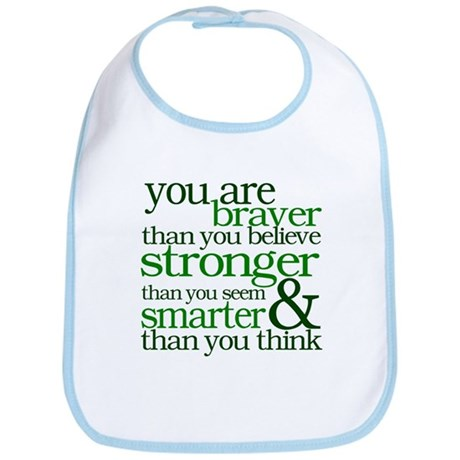 You are stronger than you seem Bib