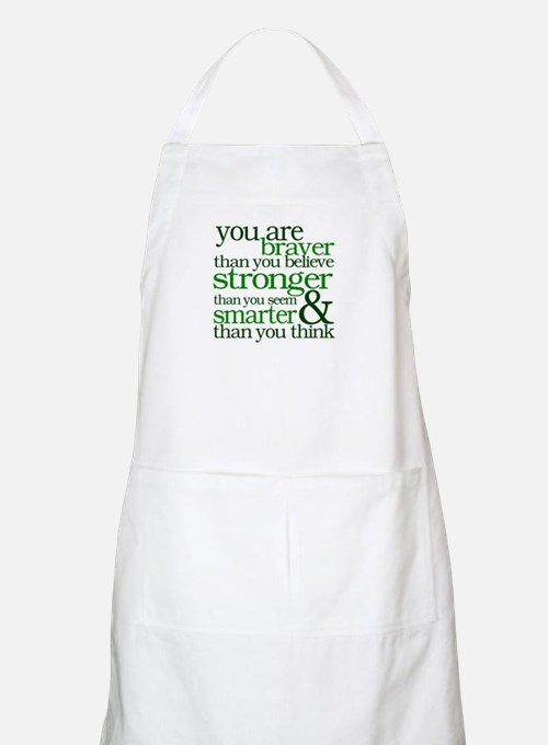 You are stronger than you seem Apron