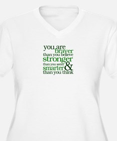 You are stronger than you seem Plus Size T-Shirt