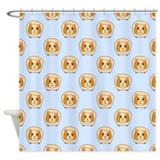 Guinea Pig Pattern. Shower Curtain