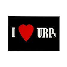 I love URPs Rectangle Magnet