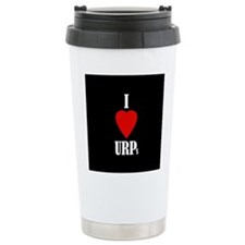 I love URPs Travel Coffee Mug