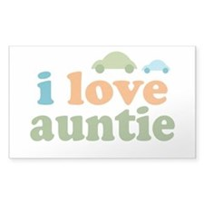 I Love Auntie Decal