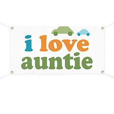 I Love Auntie Banner
