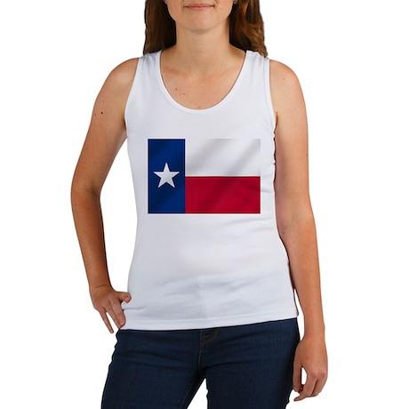 Texas State Flag Women's Tank Top