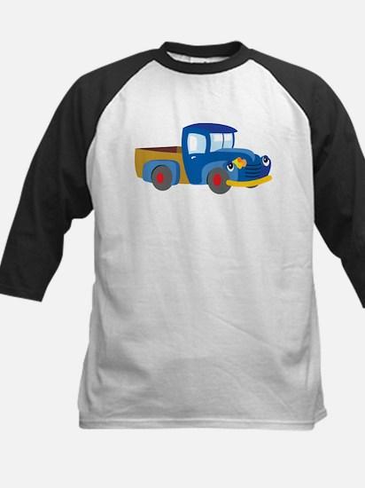 Toy Pickup Truck Baseball Jersey