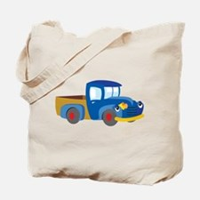 Toy Pickup Truck Tote Bag