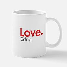 Love Edna Small Mugs