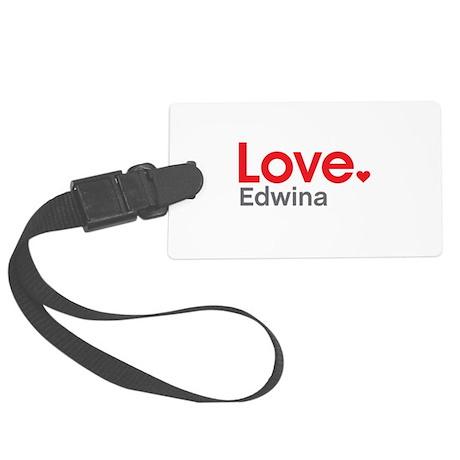 Love Edwina Luggage Tag