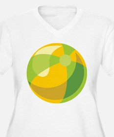 Beach Ball Plus Size T-Shirt
