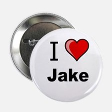 "I love Jake heart tee 2.25"" Button"