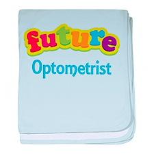 Future Optometrist baby blanket