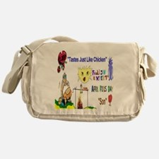 April Fools Day Son Messenger Bag