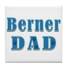 Berner Dad Tile Coaster