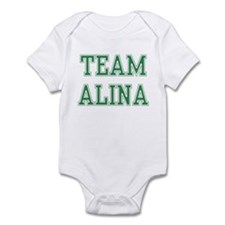 TEAM ALINA  Infant Bodysuit