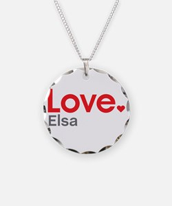 Love Elsa Necklace