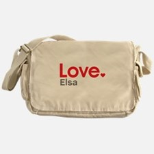 Love Elsa Messenger Bag