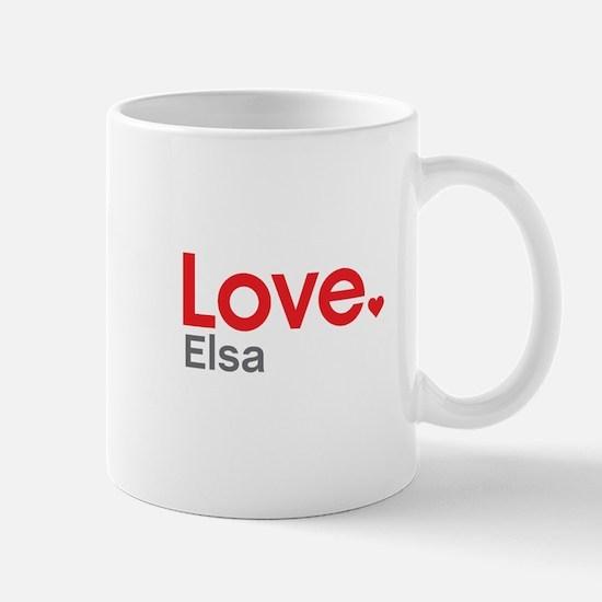 Love Elsa Mug