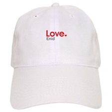 Love Enid Baseball Baseball Cap