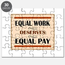 Equal Work Deserves Equal Pay Puzzle