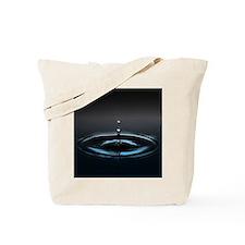 Water Drop image Tote Bag