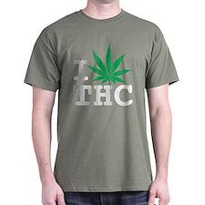 I Leaf THC T-Shirt