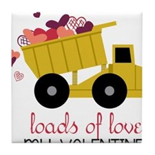 Loads of Love Tile Coaster