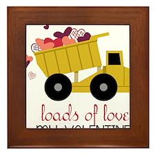 Loads of Love Framed Tile