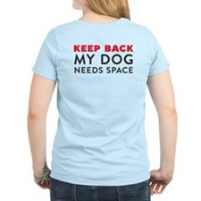 Ask First! T-Shirt w/Keep Back