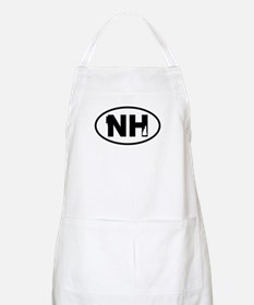 New Hampshire Old Man and Map Apron