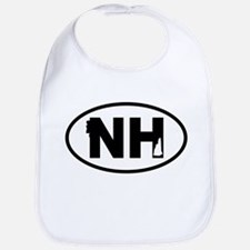 New Hampshire Old Man and Map Bib