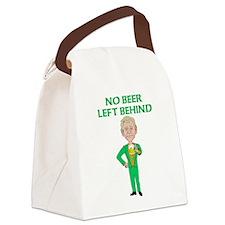 No Beer Left Behind Canvas Lunch Bag