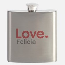 Love Felicia Flask