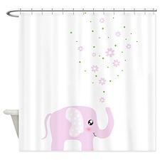 Cute elephant Shower Curtain