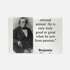 Man Is Not A Rational Animal - Disraeli Magnets