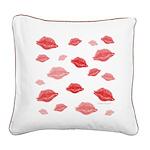Kiss Original Square Canvas Pillow